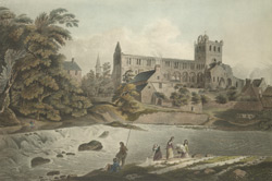 View of Jedburgh Abbey 90.d